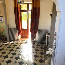 Light in the hall